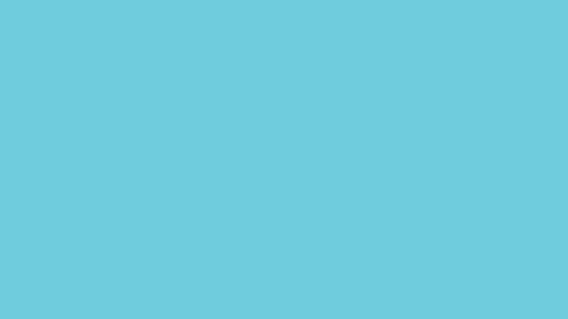 Cyan Solid Color Background