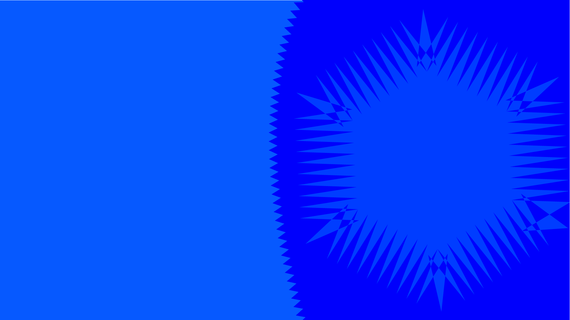 Blue Abstract Banner Background