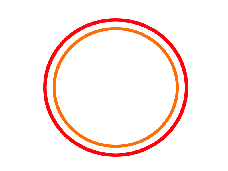 Circle Shape png Images Red