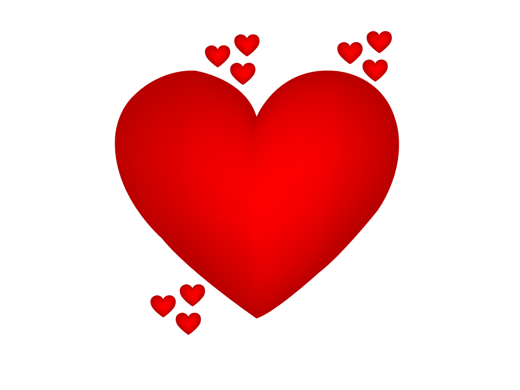 Red Heart Graphic png Free
