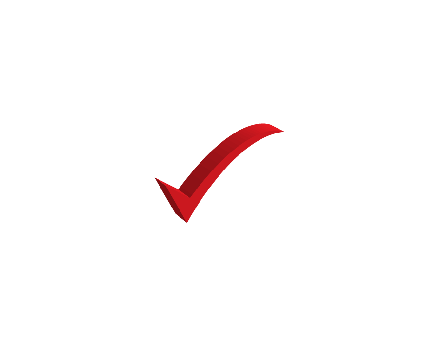 Red Yes Symbol 3d png Transparent Pictures