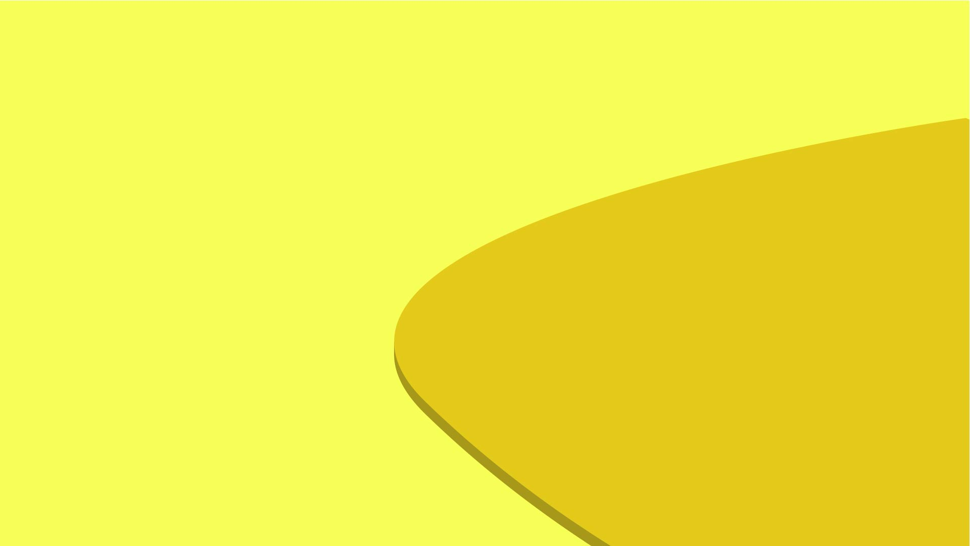 Simple Light Yellow Background
